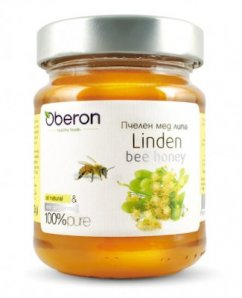 Bee honey Linden Oberon 370g