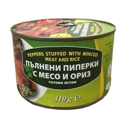 Plnené pečené papriky 410g